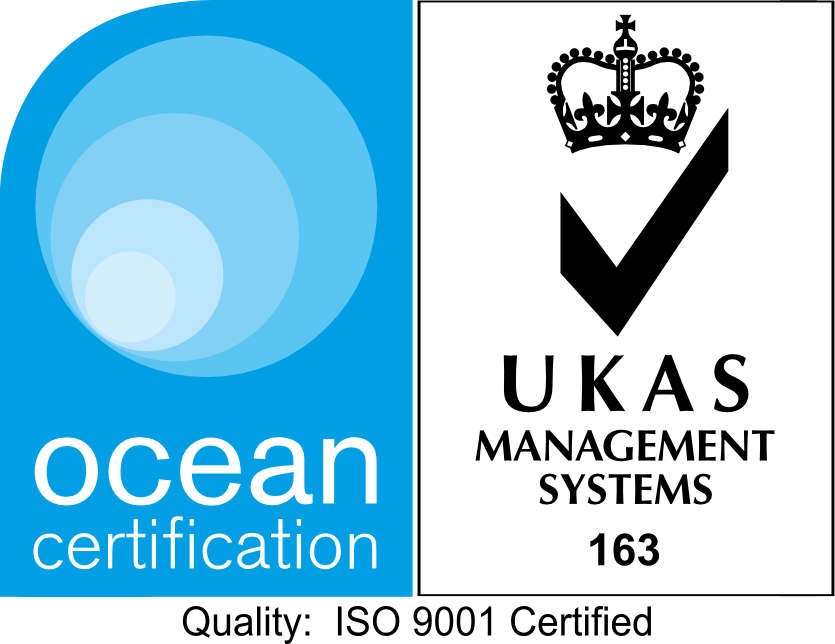 Tamrose is Ocean Certification and UKAS Management System 163 Quality Certified